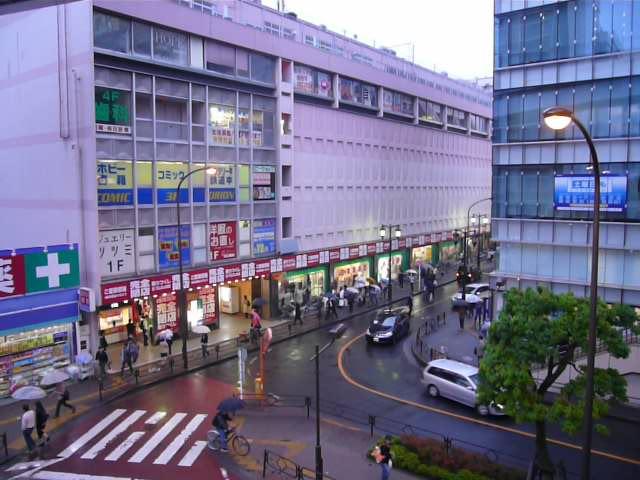 閉店日の立川第一デパート